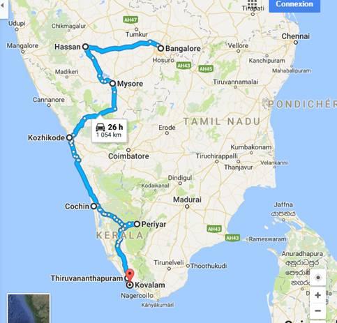BMH Info voyage indes formation-orthodontie fonctionnaliste itinéraire